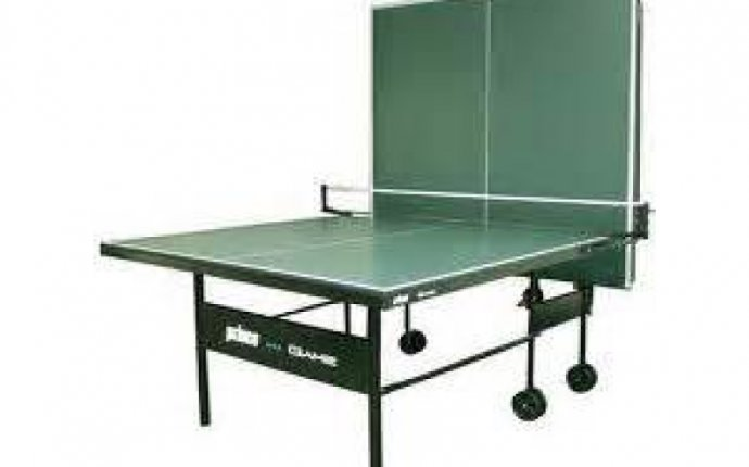 Elegant Folding Ping Pong Table Wanted Old Regulation Size 939x539