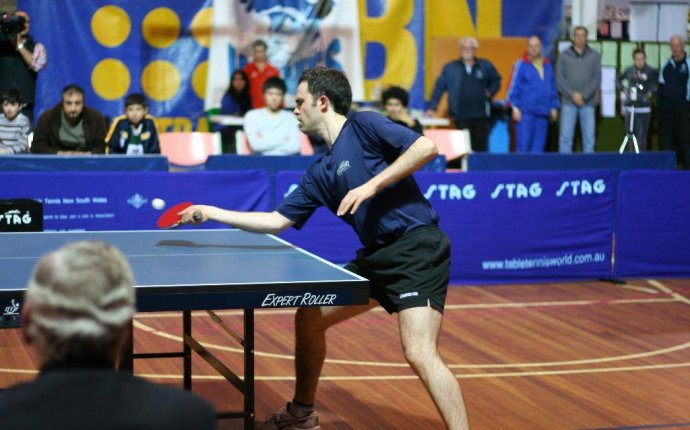 How to Play a Forehand Push in Table Tennis