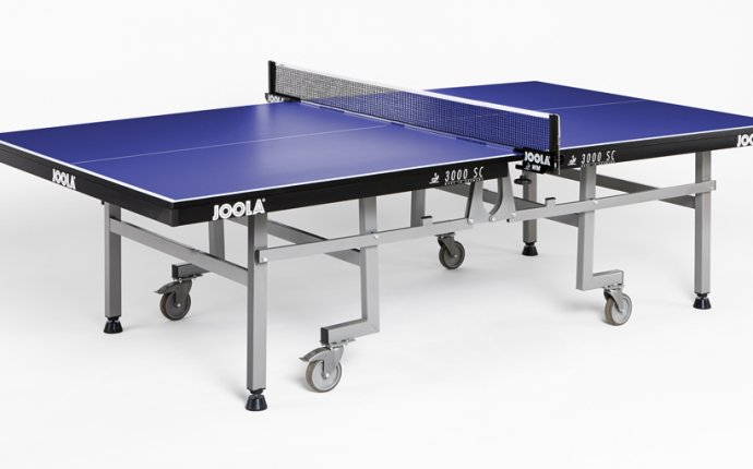 JOOLA 3 SC Professional Table Tennis Table with WM Net and Post Set