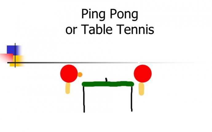 Ping Pong or Table Tennis. Index Historical Clothing and equipment