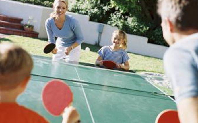 Table tennis rules for kids