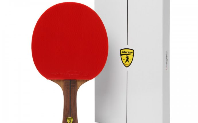 Ping pong paddle size