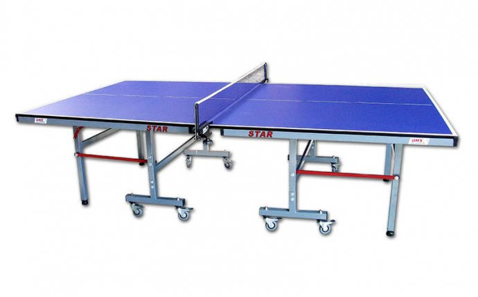 size of table tennis board