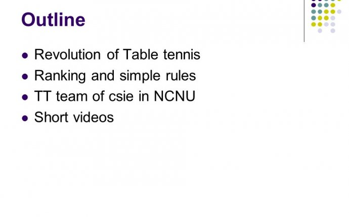 table tennis rules video