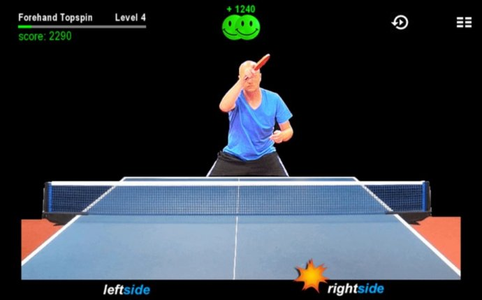 Simple rules of table tennis